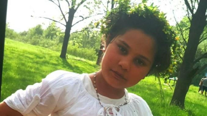 Fetița de 11 ani