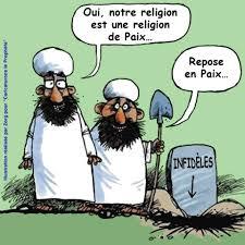 La loi principale de l'islam : se soumettre ou mourir