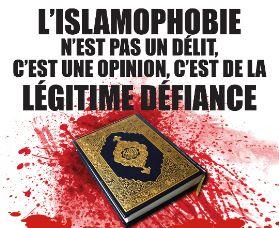 Un vrai patriote ne peut qu'être islamophobe !