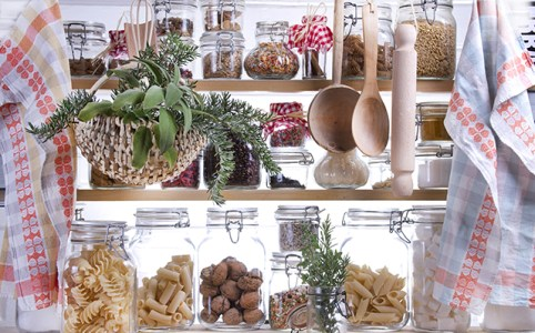 Small Pantry Housewife, Containing Necessary To Cook