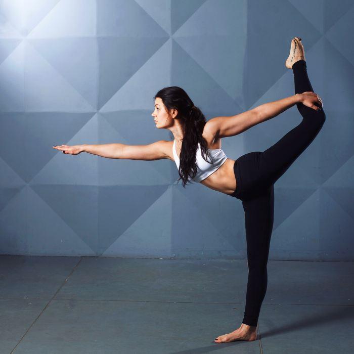 Yoga move.