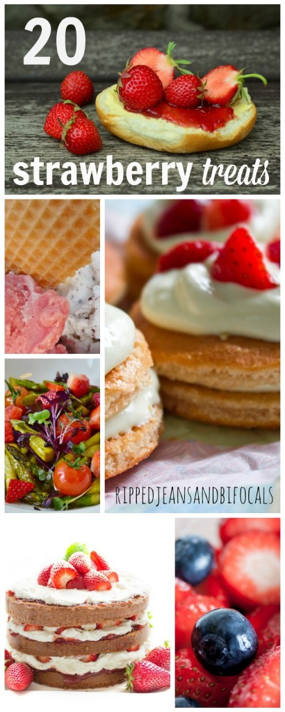 20 yummy strawberry treats for summer Ripped Jeans and Bifocals