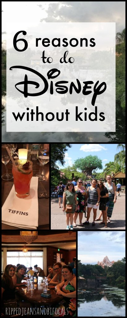 6 Reasons to to Disney without kids Ripped Jeans and Bifocals