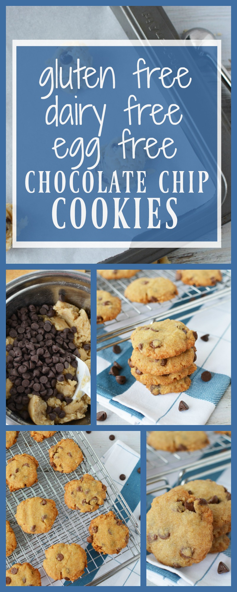 Gluten Free egg free chocolate chip cookies|RIpped Jeans and Bifocals