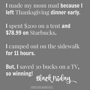 Funny Black Friday Memes (Plus a free printable!)|Ripped Jeans and Bifocals