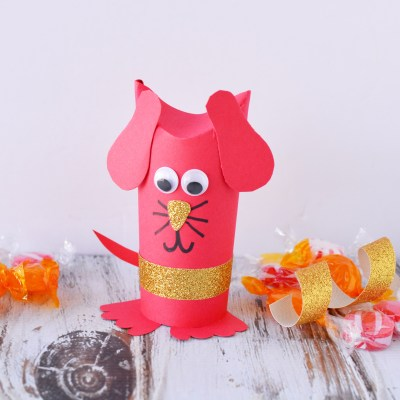 Super Cute Year of the Dog Chinese New Year Craft
