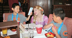 Why we love the character breakfast at Trattoria al Forno RIpped Jeans and Bifocals