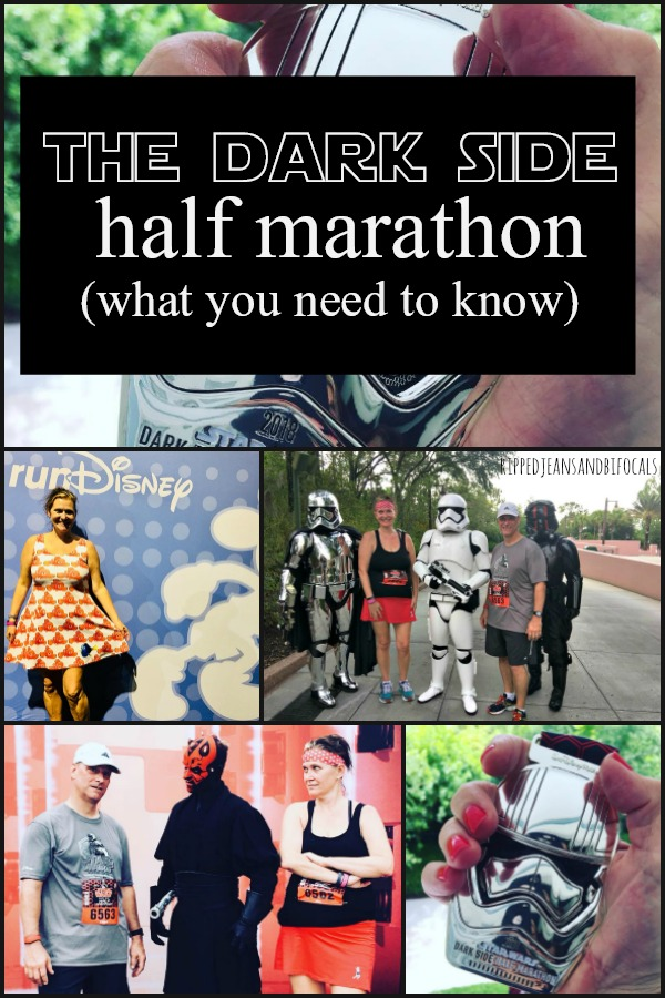 Everything (well, most everything!) you need to know about running the Star Wars Half Marathon.