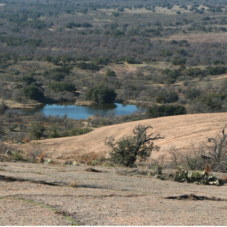 There are lots of things to do when visiting Fredericksburg Texas with kids - like Enchanted Rock State Natural Area