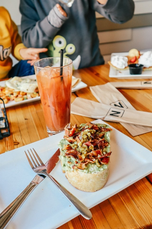 where to eat breakfast in Tempe|Bloody Mary and avocado toast