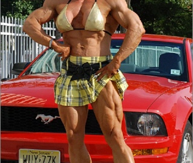 She Has Ripped Quads