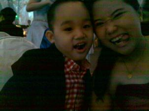 """Our """"wacky"""" faces! :)"""