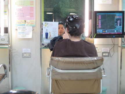 Richelle - haircut