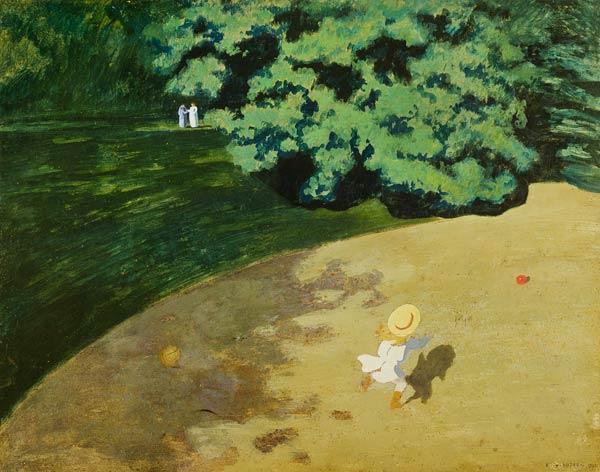 felix-vallotton-le-ballon-1899