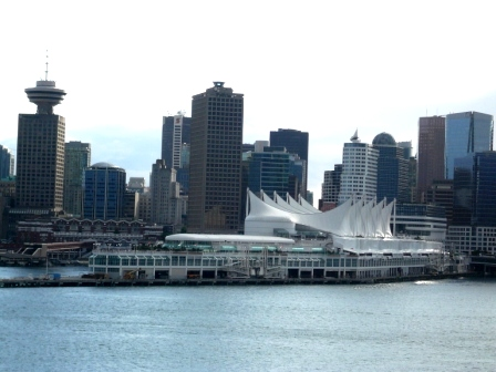 Leaving Port of Vancouver