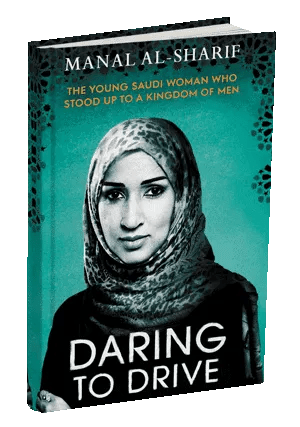 """Book Cover of """"Daring to Drive"""" by Manal Al-Sharif"""