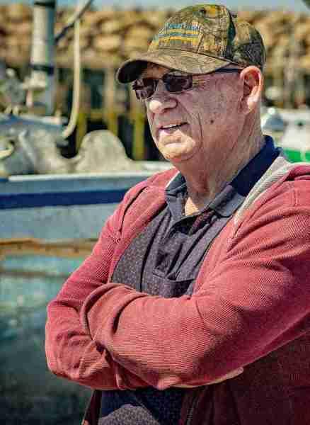 David McDonald, a member of Sipekne'katik First Nation and lobster fisherman in Nova Scotia