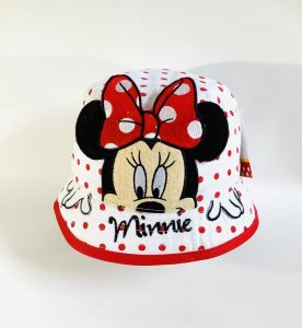 Minnie Mouse hoed wit maat 50
