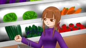 【4コマ】大量に作った料理を凍らせて食費を節約する話