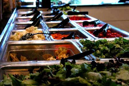 Salad bars in schools.
