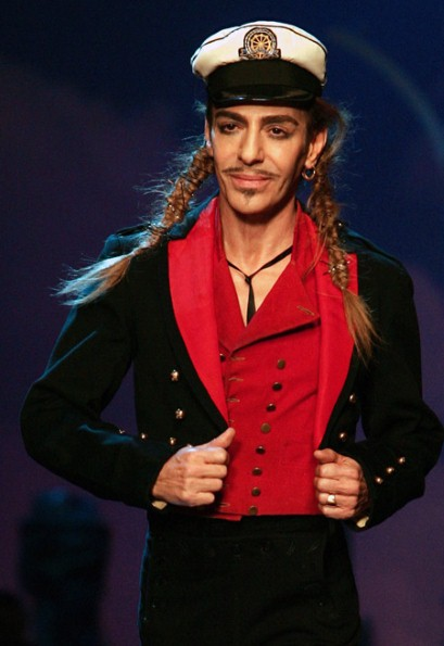 John Galliano To Teach At Parsons In New York Telegraph