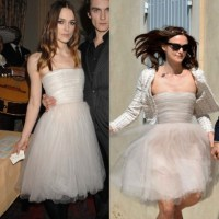 Keira Knightley wedding: havent we seen that dress ...