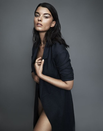 Crystal Renn Fashion Shoot