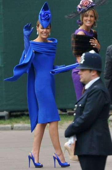 Royal Wedding Fashion The Worst Dressed Guests In