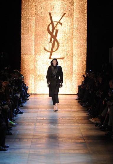 Paris Fashion Week Yves Saint Laurent Autumnwinter 2012