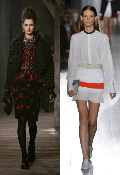 Made in Scotland: Chanel, and Made in the UK: Victoria Beckham