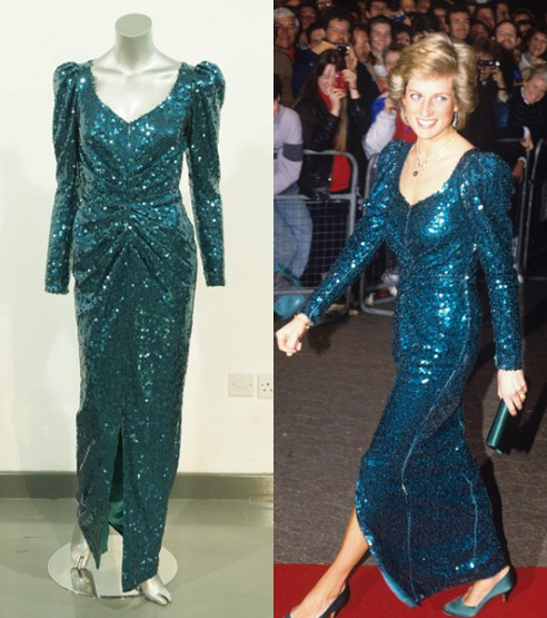 Princess Diana39s dresses Fashion Galleries Telegraph