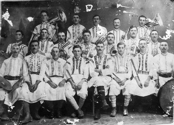 Prima fanfară din Iablanca, 1928