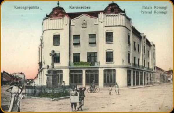 Palatul Corongi din Caransebeș