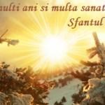 SFÂNTUL ION. Tradiții și obiceiuri