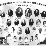 Prima generație de elevi ai Liceului român din Vârșeț