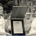 Flacăra olimpică la Alibunar, 1972