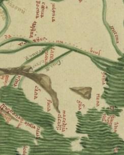 Fragment din mapa mundi 1320
