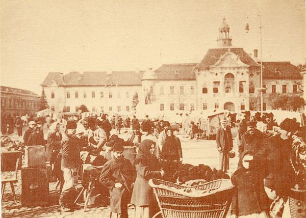 Centrul Becicherecului la începutul secolului al XX-lea