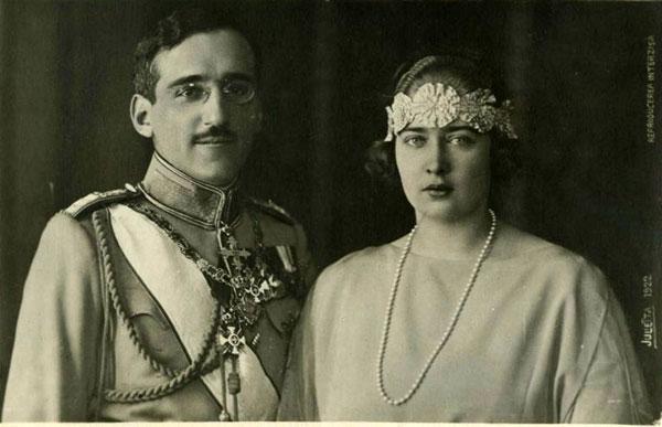 Regele Alexandru I și Regina Maria, fiica Regelui Ferdinand I al României