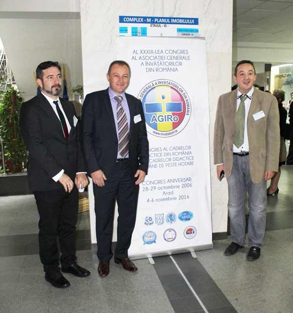 Ivița Glişici, dr. Dorinel Stan și Cristian Țințar