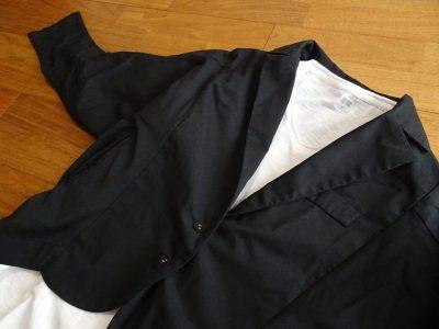 antiqua シンプルジャケット 30代オフィスカジュアル
