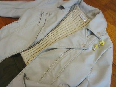 fashionletter ライダースジャケット 秋のアウター