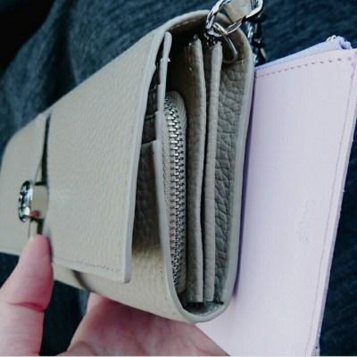財布 チェーン付き dunn 革 おしゃれ プレゼント