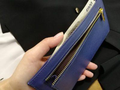 MURA カードがたくさん入る薄い財布 お札 小銭