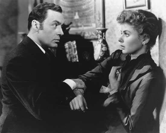 Image result for photo of ingrid bergman in gaslight