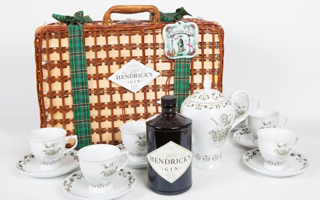 Hendrick's Christmas Tea Pack.