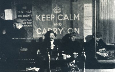 Keep Calm and Stay Home: la historia detrás del mensaje rescatado por Beefeater