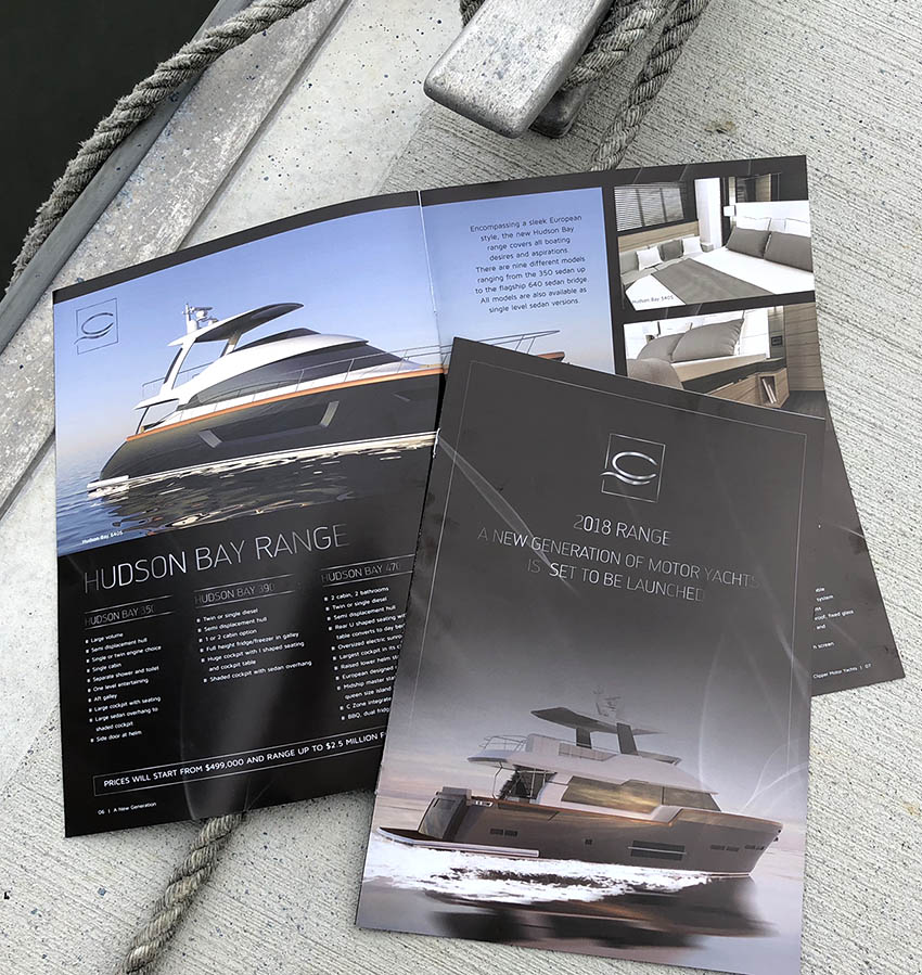 Clipper Motor Yachts Brochure