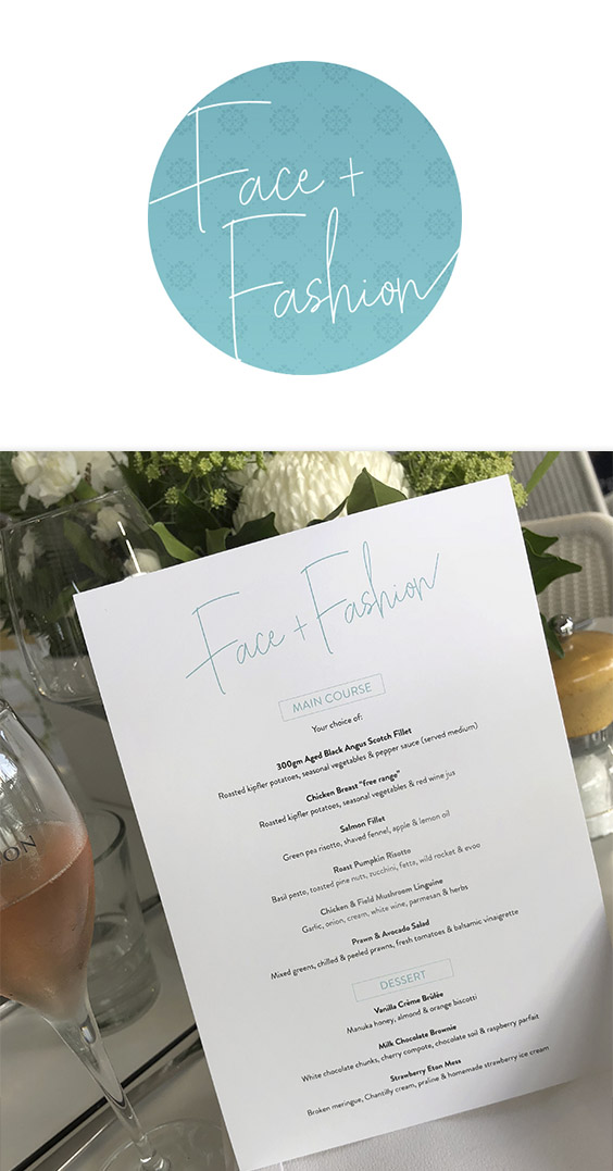 Face + Fashion Charity Event