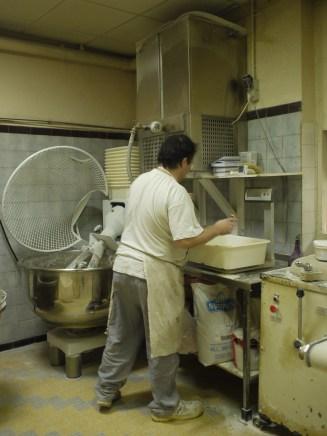 Scaling the dough